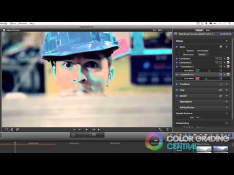 13. Final Cut Pro X Color Correction Tutorial: Stylized Looks