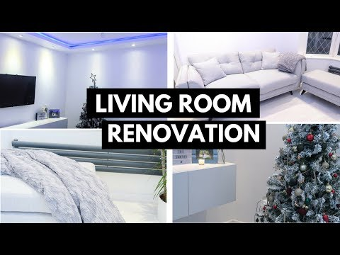 LIVING ROOM TOUR | BEFORE & AFTER RENOVATION