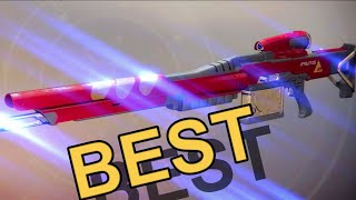 The new BEST Sniper in destiny 2?! New Monarchy (MAXIM XI)
