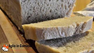 "Video ricetta: ""Pane integrale tipo 1 senza impasto"" (No Knead bread) - Aglio in Camicia"
