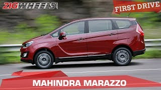 Mahindra Marazzo Review | Can it better the Toyota Innova? | ZigWheels.com