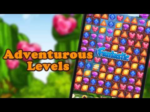 Jewels Garden - Mobile Game
