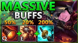 CRIT ADCS ARE COMING BACK?! Huge Tristana + Stormrazor Buffs - League of Legends