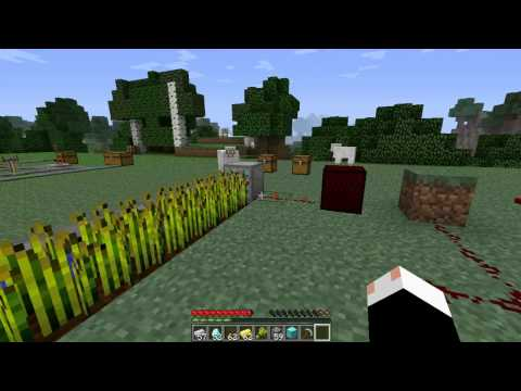 Minecraft Mod Spotlight: Powercraft 1.2.5   Conveyor Belts   Miner/Potion Machine