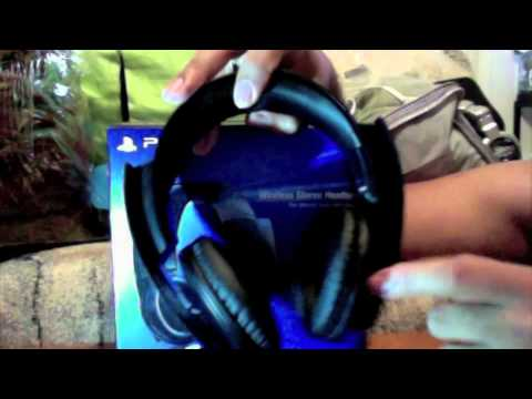 Sony PS3 Wireless Stereo Headset Review!!!