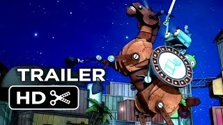 Knight Rusty Official Trailer (2014) - Children's Animated Fairy Tale Movie HD
