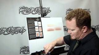 How to Airbrush w/ Createx Wicked Flesh Tones w/ Steve Driscoll