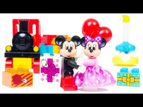 LEGO Duplo Train Mickey & Minnie Birthday Parade 10597