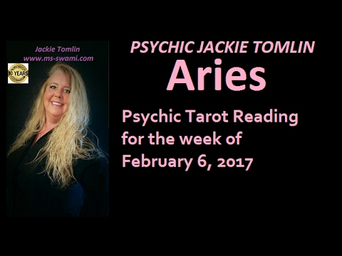 ARIES Psychic Tarot Reading for the week of February 6, 2017
