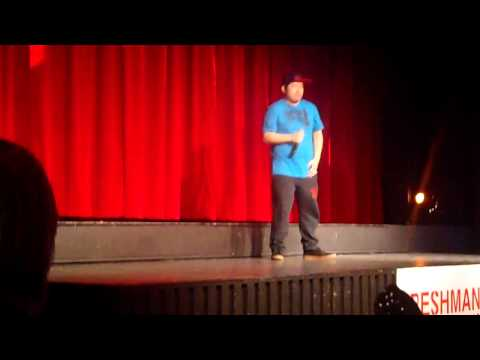International Night 2013! Rapping Korean guy