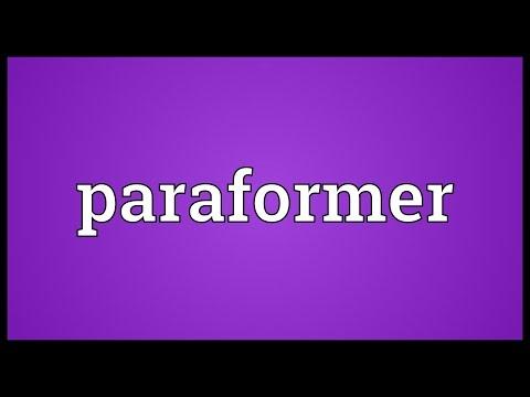 Header of Paraformer