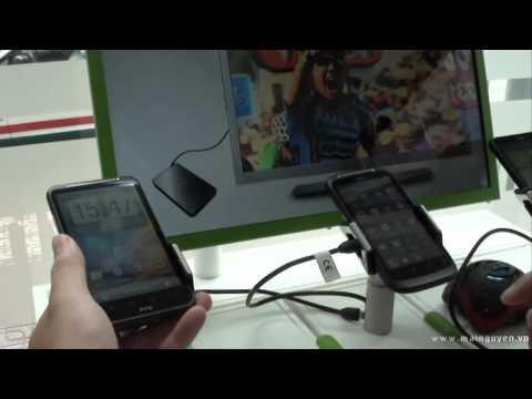 Hướng dẫn nâng cấp lên  Android 2.3.3 cho HTC Desire HD