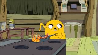 Watch Adventure Time Bacon Pancakes video