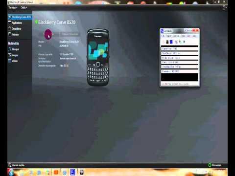 [Tutoriel]  Changer l'OS de son BlackBerry: Reload Software 552
