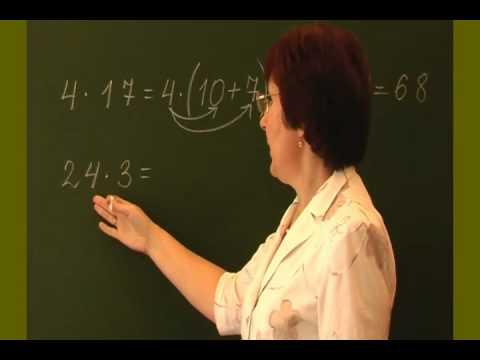 Уроки математики за 3 класс - видео