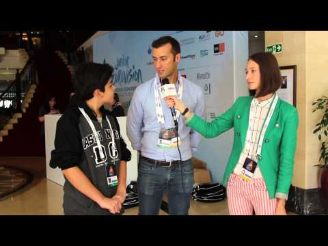 ESCKAZ live in Malta: Meeting Vincenzo Cantiello (Italy) in hotel