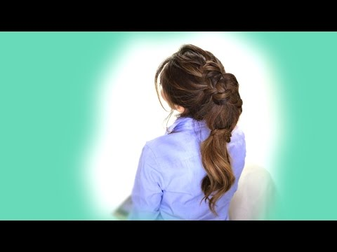 ★Carousel BRAID HAIRSTYLE  | Cute Everyday HAIRSTYLES