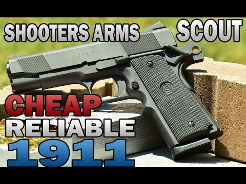 A cheap 1911 for CCW?! - Shooters Arms Scout 1911 .45ACP Review - Guns.com