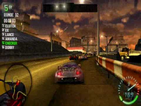 Need for Speed Carbon - PSP - Gameplay (HQ)