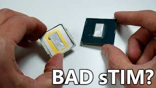 Bad sTIM? Why is the 9900K so hot?