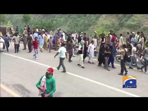 Azadi March Ko Chikoti Se 6 KM Pehle Rok Liya Gaya