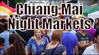 Chiang Mai Sunday Night Market and Chiang Mai Saturday Night Market