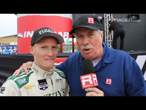 RACER: Mike Conway Toronto Race 2 Winner