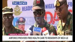Airforce organise free medical outreach for residents of Ikeji-Ile community, Osun