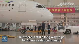 China's fledging aviation industry aims to gain competitiveness