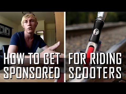 How To Get Sponsored for Scootering