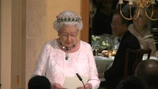 Britain Queen Elizabeth II thanks Canadian PM for making her feel old.