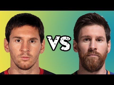 [NEW] Top Footballers WITH BEARD or WITHOUT BEARD ft. MESSI ★ RONALDO ★ NEYMAR ★ BALE and more