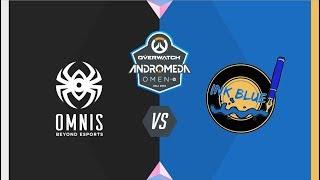 #OWAndromeda Playoffs Vitoria | Omnis vs Ink Blue | Overwatch Andromeda OMEN by HP