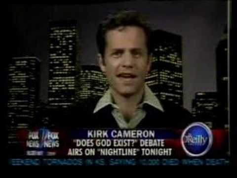 Kirk Cameron gets Owned.  Evolution is a myth!