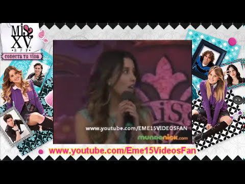 EME15 - Natalia y Valentina cantan A Mis Quince en Concurso MissXV [Capitulo 97-98]