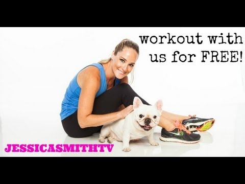 Free Exercise Videos  Workout For Free Anytime, Anywhere With Jessicasmithtv