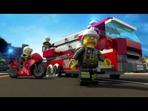 All Hands to the Rescue - LEGO CITY Fire Minimovie (3D)