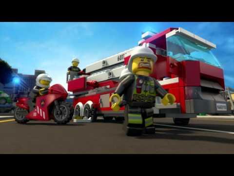 All Hands to the Rescue - LEGO City: Fire Brigade - Mini Movie (3D)