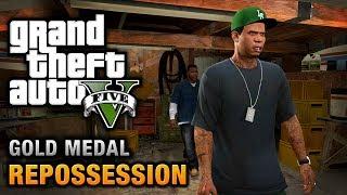 GTA 5 - Mission #2 - Repossession [100% Gold Medal Walkthrough]
