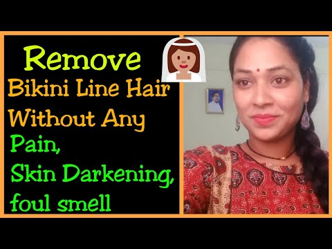How To Remove Bikini Line Hair Without Any Pain,Skin Darkening& Foul Smell|Mana inty tip's thumbnail