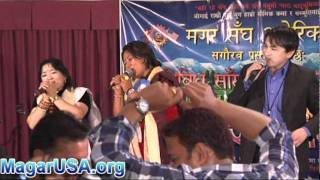आकाशै भरी...सालैजो - Mr. Suman Budha Magar & Ms. Sita Gurung