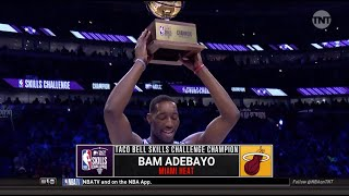Bam Adebayo Wins 2020 NBA All-Star Skills Challenge | All 3 Rounds | Miami Heat Star
