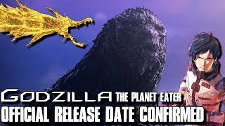 Official Release Date Confirmed - Godzilla: The Planet Eater