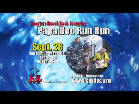 San Joaquin Memorial High School - Papa Doo Run Run PSA 2013 - 09/14/2013
