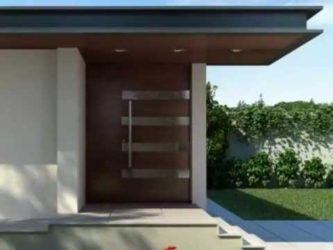 Foret Doors Modern Solid Wood Entry Doors Youtube