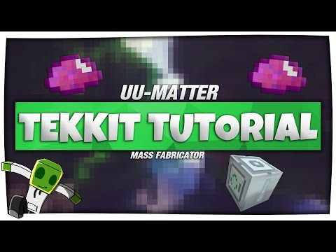 Minecraft Tekkit Lite / Tekkit Tutorial - UU-MATTER herstellen [German|HD]