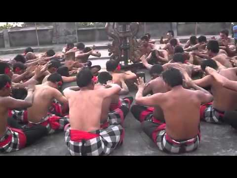 Wisata Pulau Bali - Tari kecak Di Pulau Dewata ( Balinese Dance )