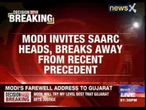 Narendra Modi invites Pakistan PM Nawaz Sharif for swearing-in