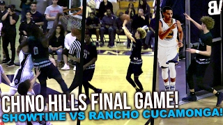 Chino Hills FINAL Game of the Season! LaMelo SCORES POINTS AGAIN! Chino Hills VS Rancho Cucamonga