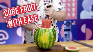How to Core Fruit In Seconds | I Want That